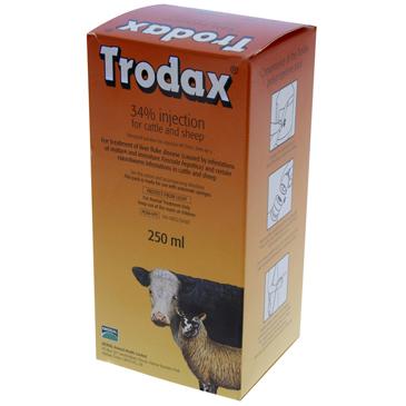 TRODAX 34% INJECTION 250ML-0