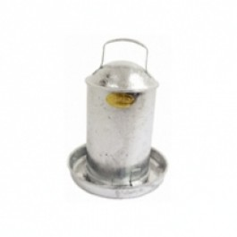 GALVANISED POULTRY DRINKER 4.5L-0