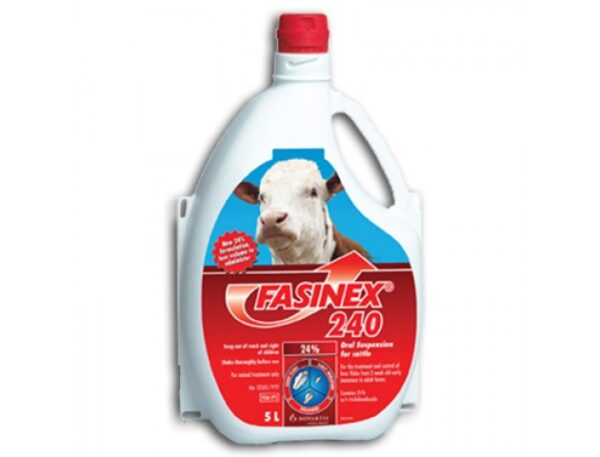 FASINEX 240 LOW DOSE CATTLE DRENCH 5L-0