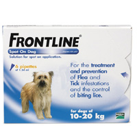 FRONTLINE DOG MEDIUM DOG 3 PIPPETTE-0