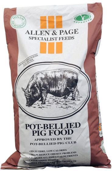 ALLEN & PAGE POT BELLIED PIG 20KG-0