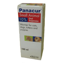 PANACUR DOG & CAT 10% 100ML-0