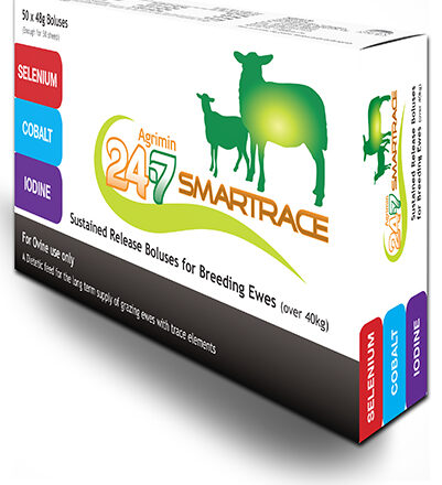 AGRIMIN SMARTRACE SHEEP 24/7 BOLUS 50 DOSE-0