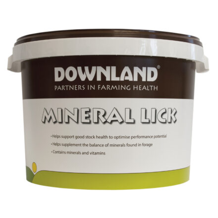 DOWNLAND ORGANIC CATTLE BUCKET 25KG-0