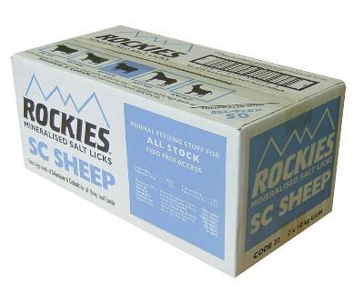 ROCKIES SHEEP SC SALT LICK 2 X 10KG -0