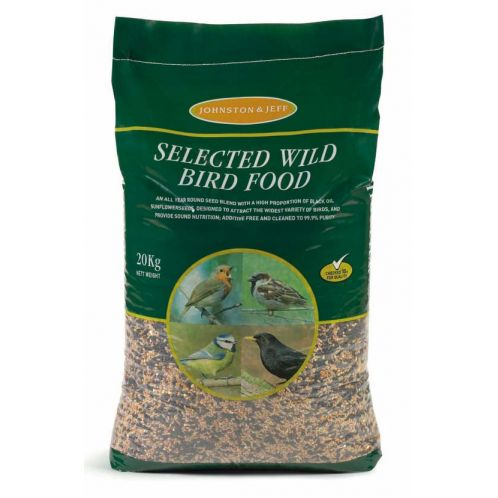 JOHNSTON & JEFF STANDARD WILD BIRD SEED 20KG-0