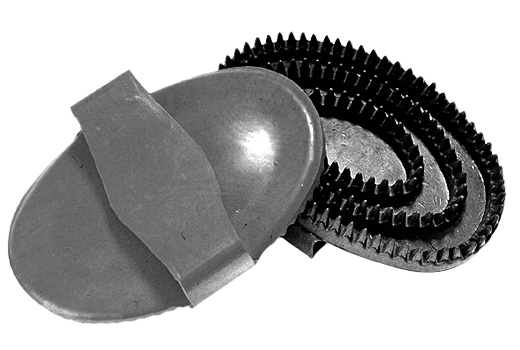 CURRY COMB RUBBER SMALL-0