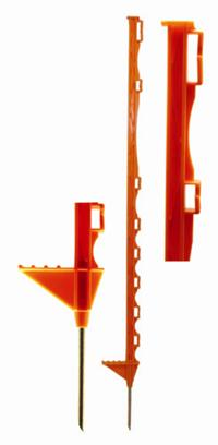 HOTLINE PLASTIC ELECTRIC FENCE POST ORANGE-0
