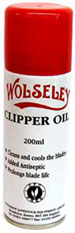 WOLSELEY CLIPPER OIL AEROSOL 200ML-0