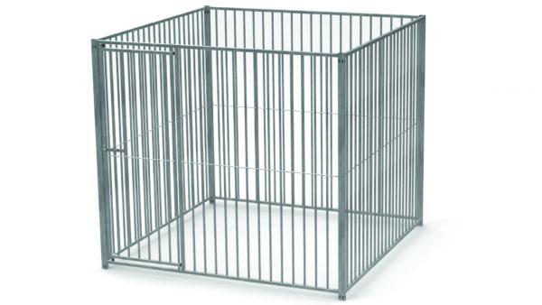 DOG PEN FRONT C/W GATE 2M-0