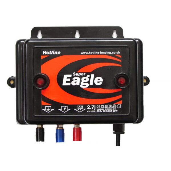 HOTLINE SUPER EAGLE MAINS ENERGISER 2.8J-0
