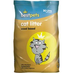BESTPETS WOOD CAT LITTER 30L-0