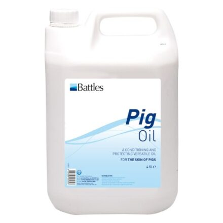 BATTLES PIG OIL 4.5L-0