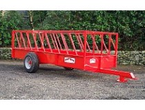 PORTEQUIP CATTLE FEED TRAILER 25' x 6' ( FT251 )-0