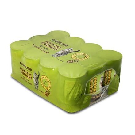 DOWNLAND COUNTRY CAT TINS CASE OF 12-0