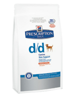 HILLS PRESCRIPTION DIET CANINE D-D 12KG SALMON & RICE-0