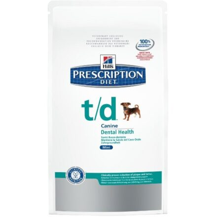 HILLS PRESCRIPTION DIET CANINE T-D 10KG-0