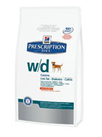 HILLS PRESCRIPTION DIET CANINE W-D 12KG-0