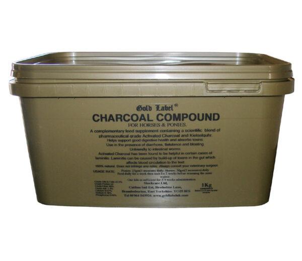 GOLD LABEL CHARCOAL COMPOUND 1KG-0