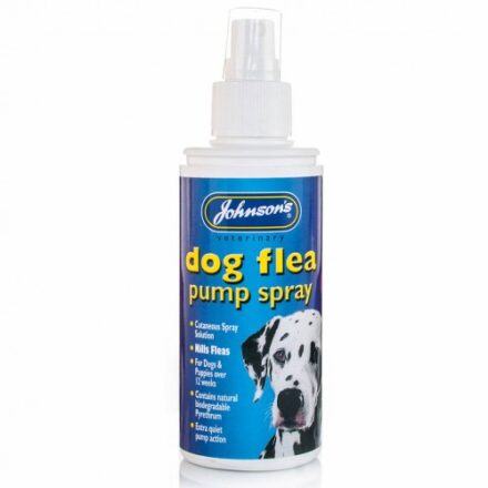 JOHNSONS DOG FLEA PUMP SPRAY 100ML-0