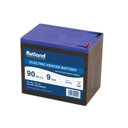 RUTLAND 9V BATTERY 90Ah -0