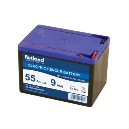 RUTLAND 9V BATTERY 55Ah 22-100-0