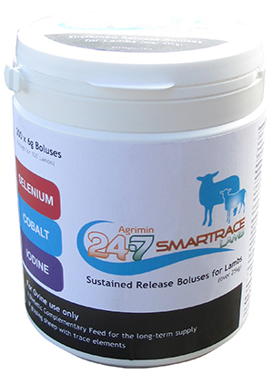 AGRIMIN SMARTRACE 24-7 LAMB BOLUS 200 BOLUS ( 100 DOSES )-0