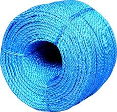 BLUE POLYPROP ROPE 8MM X 220M-0