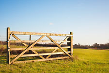 WOODEN FIELD GATE INC FITTINGS 9'-0