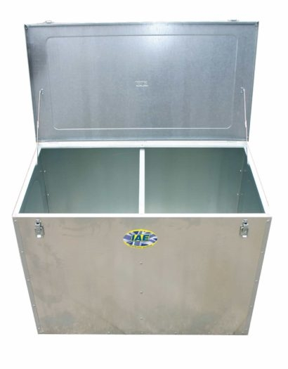 FEED BIN 630L C/W 1 PARTITION-0