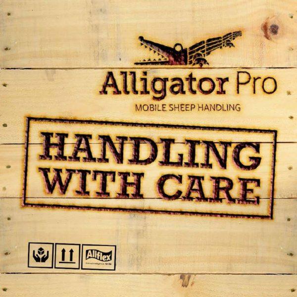 ALLIGATOR PRO 750 HANDLING SYSTEM ( ELECTRIC WINCH )-7939