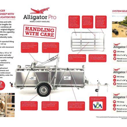 ALLIGATOR PRO 500 HANDLING SYSTEM ( STANDARD WINCH )-0