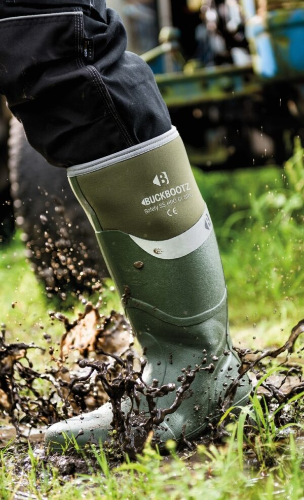 BUCKLER BUCKBOOTZ SAFETY WELLINGTON BOOTS-8290