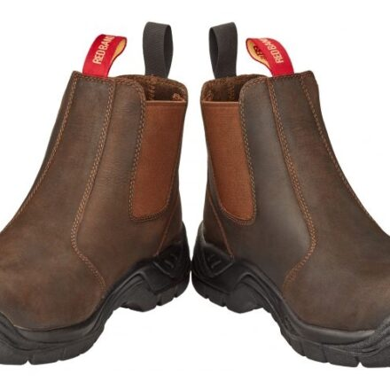 SKELLERUP RED BAND DEALER BOOTS SAFETY TOE-0