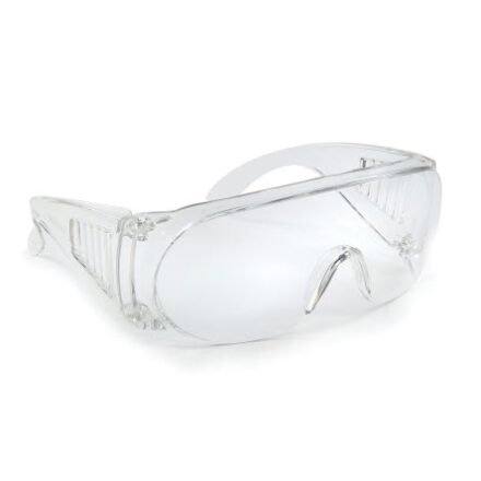 ALPHA SOLOWAY CLEAR SAFETY GLASSES-0