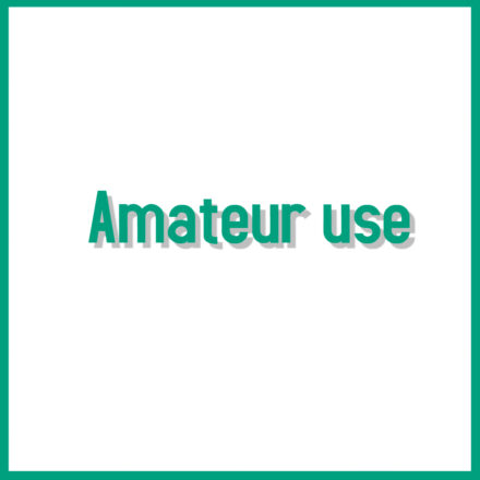 Amateur Use Products