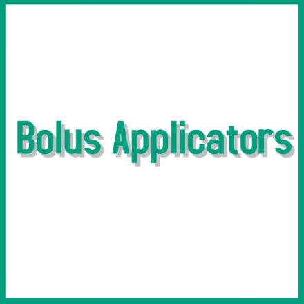 Bolus Applicators
