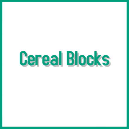 Cereal Blocks