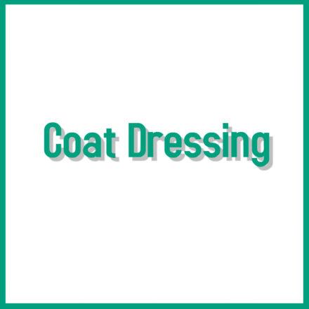 Coat Dressing