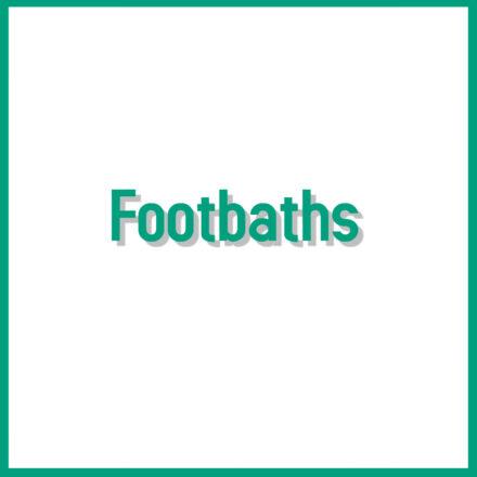 Sheep Footbaths