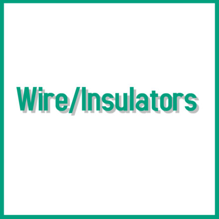 Wire/Insulators